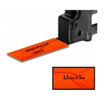 Brother TZe-B31 - 5m zwart op fluorescerend oranje / gelamineerd tape / 12mm (huismerk)