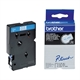 Brother TC-293 tape blauw op wit 9mm x 7,7m (origineel)
